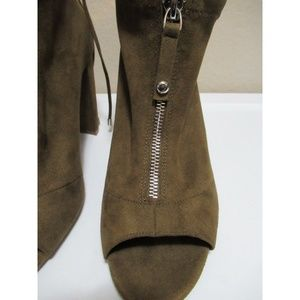 G by Guess Shoes - Guess Peep-Toe Ankle Booties